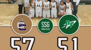 SSG: Third Place > Bloomington Central Catholic 57 / Rock Falls 51