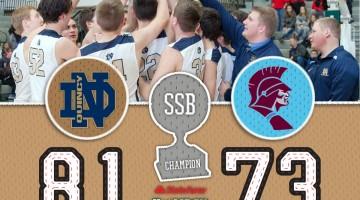 SSB: Championship > Quincy Notre Dame 81 / St. Joseph-Ogden 73
