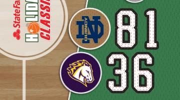 SSB: Quincy Notre Dame 81 / Peoria Christian 36