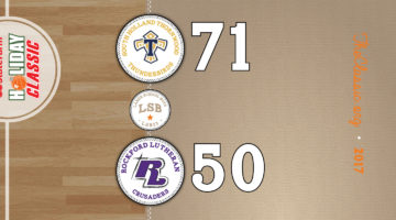 LSB: South Holland Thornwood 71 / Rockford Lutheran 50