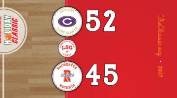 LSG: Canton 52 / Rochester 45