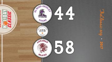 SSB: Annawan 58 / El Paso-Gridley 44