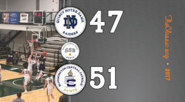 SSB: Bloomington Central Catholic 51 / Quincy Notre Dame 47