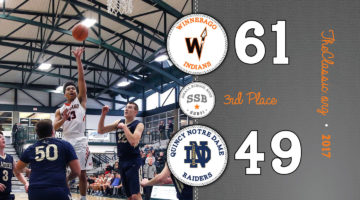 SSB: Third Place > Winnebago 61 / Quincy Notre Dame 49