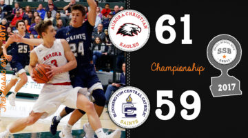SSB: Championship > Aurora Christian 61 / Bloomington Central Catholic 59 (OT)
