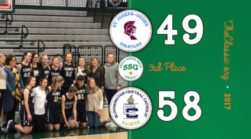 SSG: Third Place > Bloomington Central Catholic 58 / St. Joseph-Ogden 49