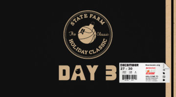 Welcome to Day 3 of the 2017 State Farm Holiday Classic!