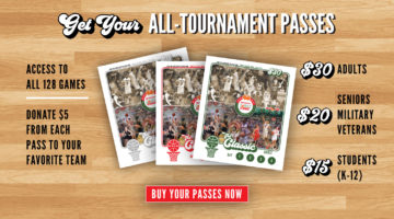 All-Tournament Passes On Sale – Donate To Your Favorite Team!